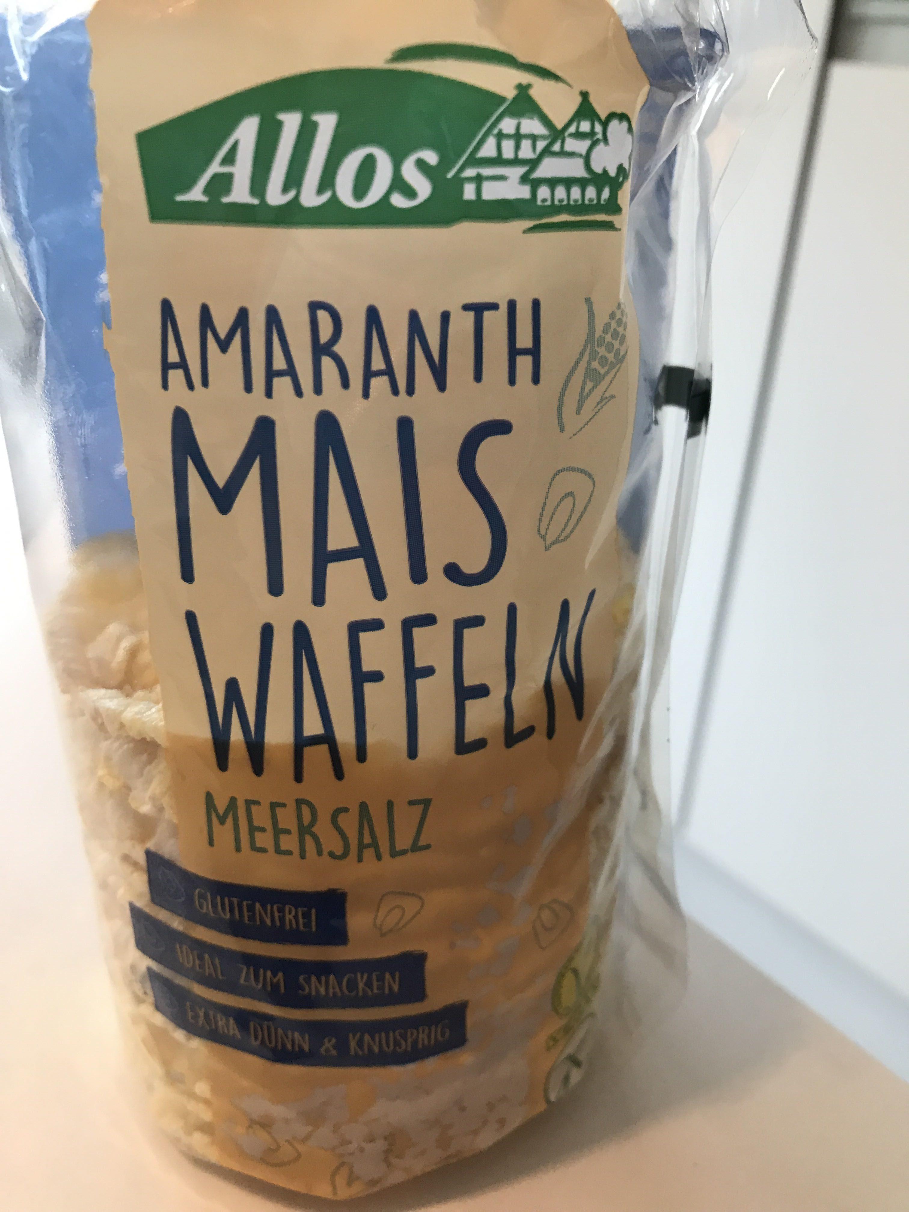 Mais waffeln sea salt - Product - fr