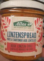 Pâte à tartiner aux lentilles - Product - nl