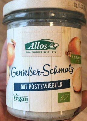 Genießer-Schmalz mit Röstzwiebeln - Product - de