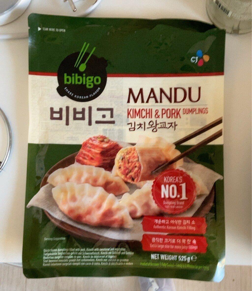 Mandu kimchi & pork - Produit - fr