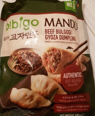 Beef bulgogi gyoza dumpling - Product