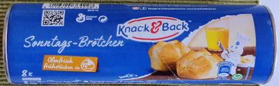 Sonntags Brötchen, Knack&Back - Produkt - de