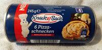 6 Pizza-schnecken - Produkt - de