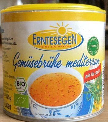 Gemüsebrühe mediterran - Product - de