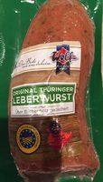 Original Thüringer Leberwurst, Hausmacher Art - Product - fr