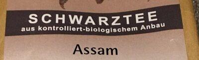 Schwarztee Assam - Ingrediënten - de