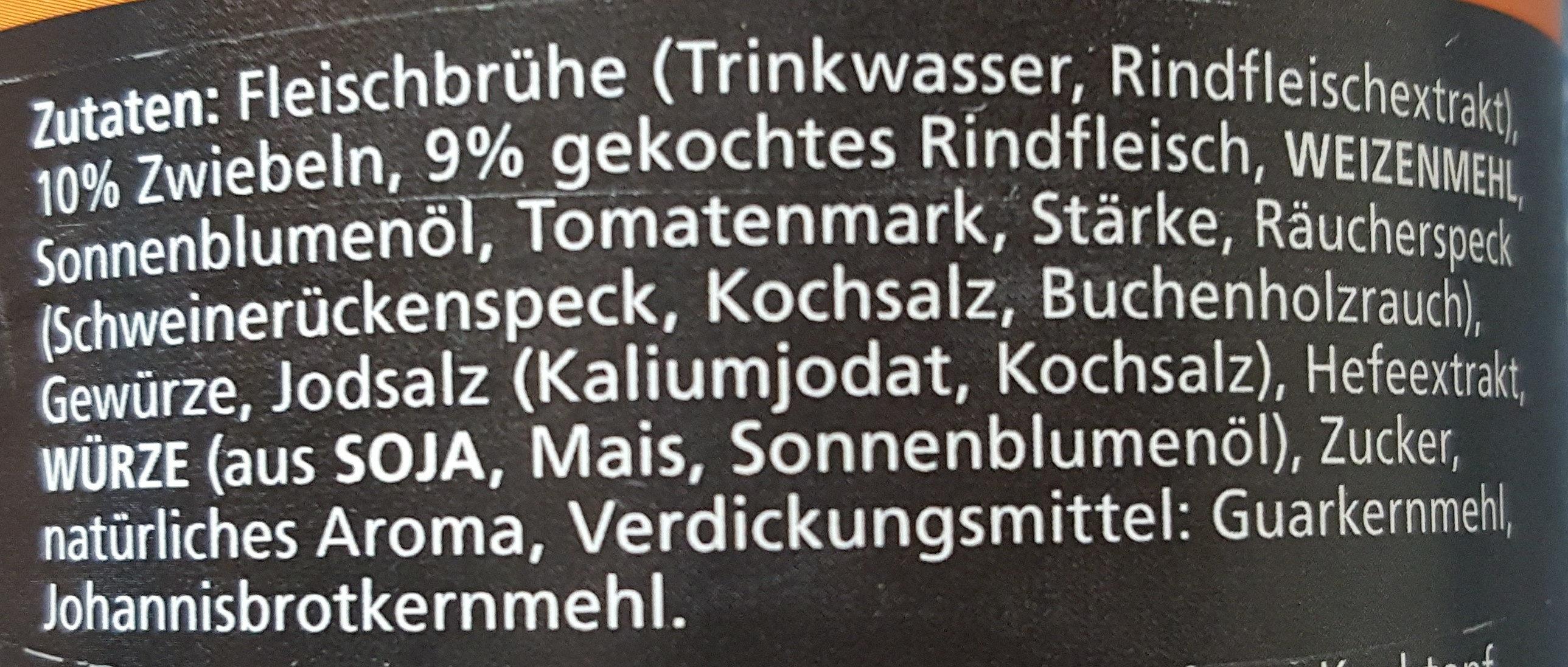 Gulaschsuppe ungarisch - Ingredients