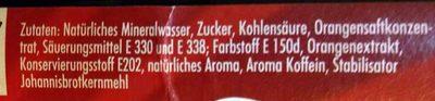 Hubauer Cola-mix lemonade - Inhaltsstoffe