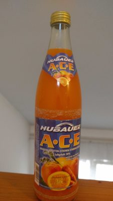 Hubauer ACE orange-carrot-lemon vitamindrink - Produkt