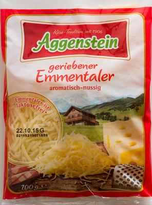 Geriebener Emmentaler - Product