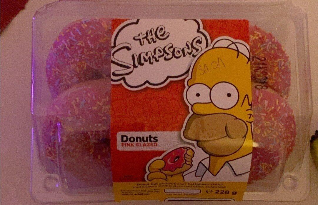 The Simpsons Donuts - Produit - de