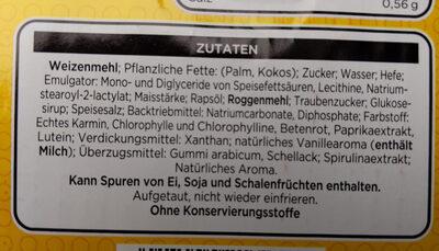 The Simpsons Donuts - Ingrédients - de