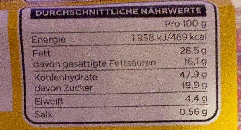 The Simpsons Donuts - Informations nutritionnelles - de