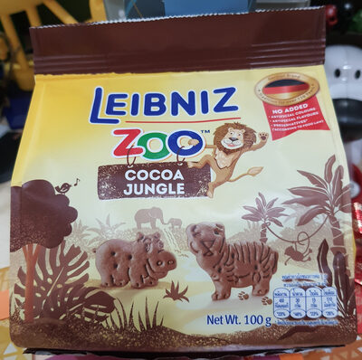 Zoo Jungle Biscuits with Cocoa - Produit - th