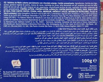 waffelletten - Informations nutritionnelles - it