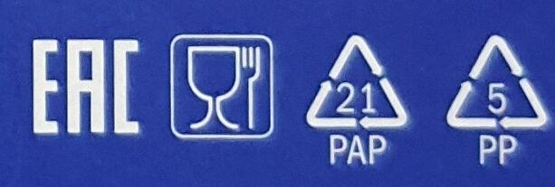 Wafeletten Dark - Instruction de recyclage et/ou informations d'emballage - en