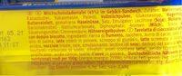 Pick Up! Choco 5er Multipack - Nährwertangaben - de