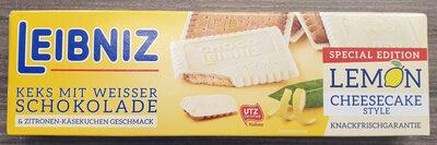 Keks mit weisser Schokolade & Zitronen-Käsekuchen Geschmack - Product