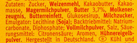 Leibniz Choco Vollmilch - Ingredients