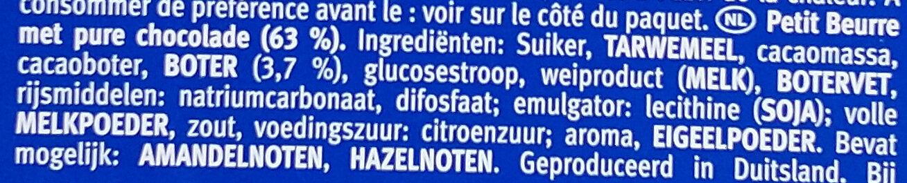 Choco Leibniz - Ingrediënten - nl