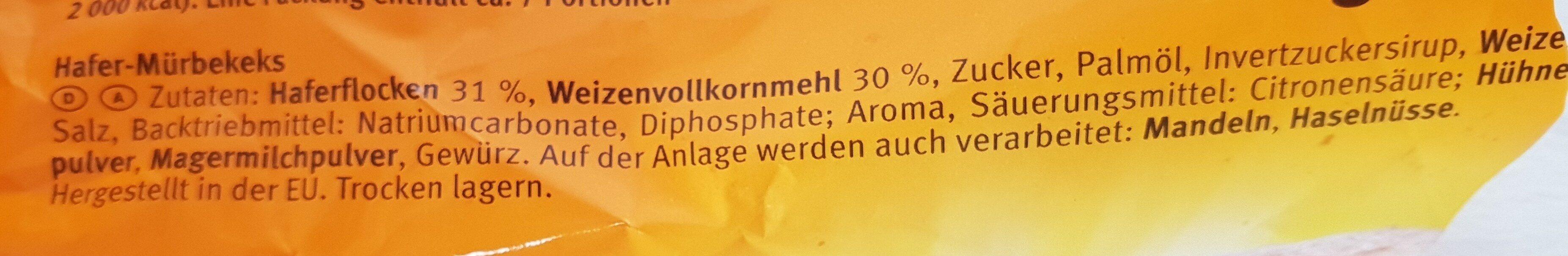 Brandt Hobbits Kernig - Ingredients