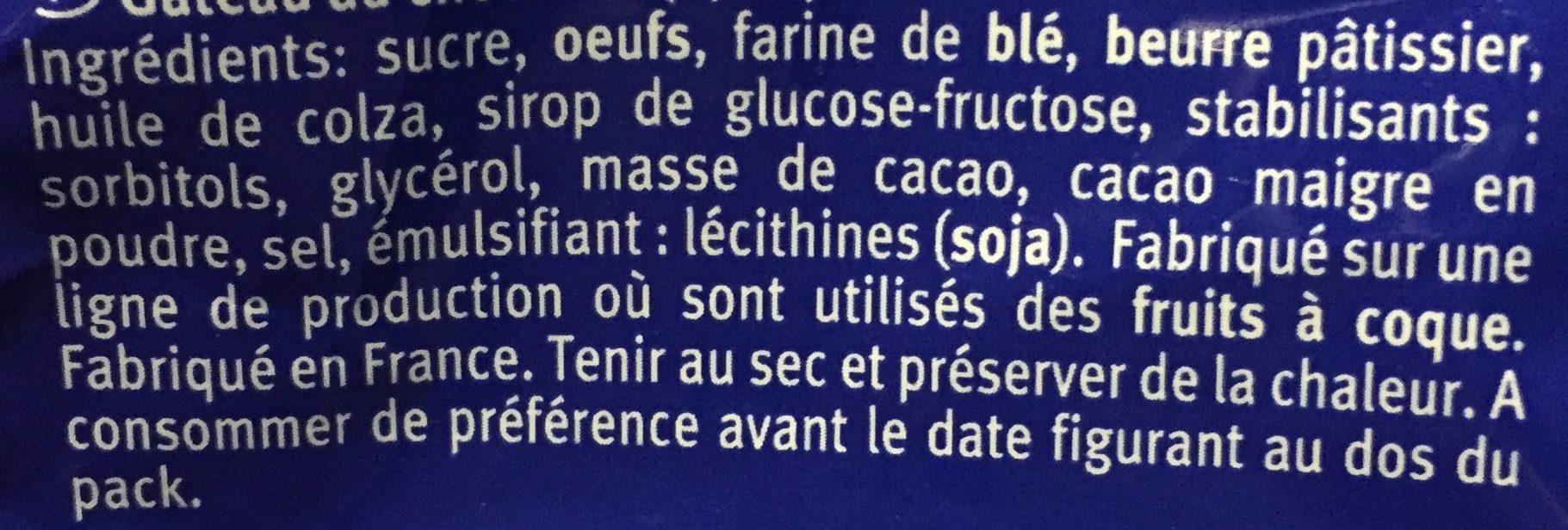 Brownies au chocolat - Ingrediënten