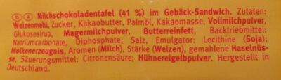 Pick Up Minis 12x Choco - Inhaltsstoffe - de