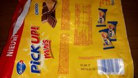 Pick up mini chocolat - Product - fr