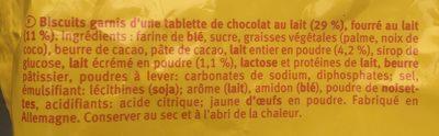 Pick up minis - Ingrediënten - fr