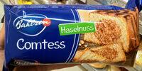 Bahlsen Comtess Haselnuss - Produit - de