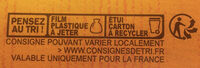 La Grande Galette 1905 - Istruzioni per il riciclaggio e/o informazioni sull'imballaggio - fr