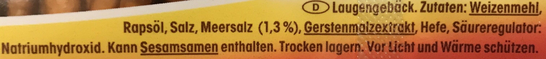 Saltletts - Zutaten - de