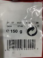 Curly cacahuetes clásico - Instruction de recyclage et/ou informations d'emballage - fr