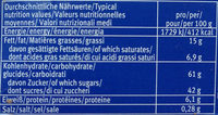 Contessa Schoko - Informations nutritionnelles - de