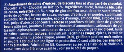 Bahlsen Zum Fest - Mélange De Biscuits De Noel, 500 G - Ingrediënten