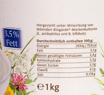 Johgurt mild 3,5% fett - 2