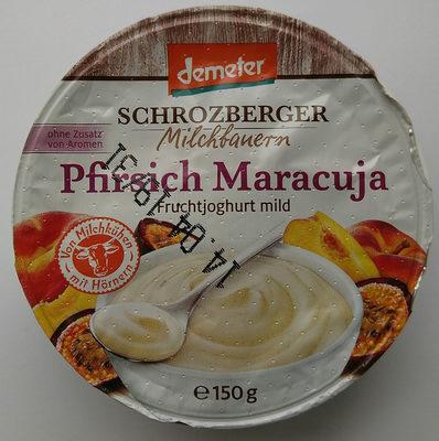 Pfirsich Maracuja Fruchtjoghurt - Produkt