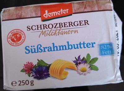 Süßrahmbutter Schrozberger milchbauern - Prodotto - de