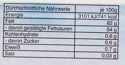 Beurre Schrozberg demeter - Ingredients