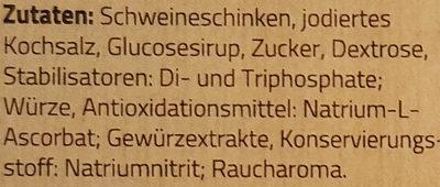 Metzger-Hinterschinken - Ingredients