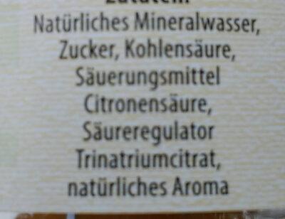Zitronenlimonade - Ingredients