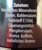 Bad Brambacher Cola - Ingredients - de
