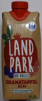 Landpark Bio-Quelle Grantapfel Acai - Prodotto - de