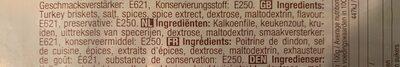 Hindi Göğsü Dilim Söğüş, Putenbrust In Scheiben - Ingredients - fr