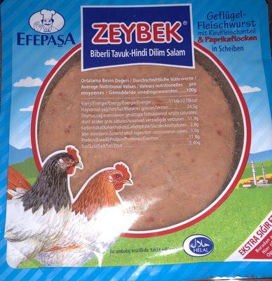 Zeybek Poultry Sausage with Flucky Paprika - 2