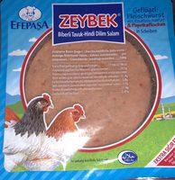 Zeybek Poultry Sausage with Flucky Paprika - Product - fr