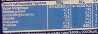 Mélange de Biscuits - Recette Japonaise - Informations nutritionnelles