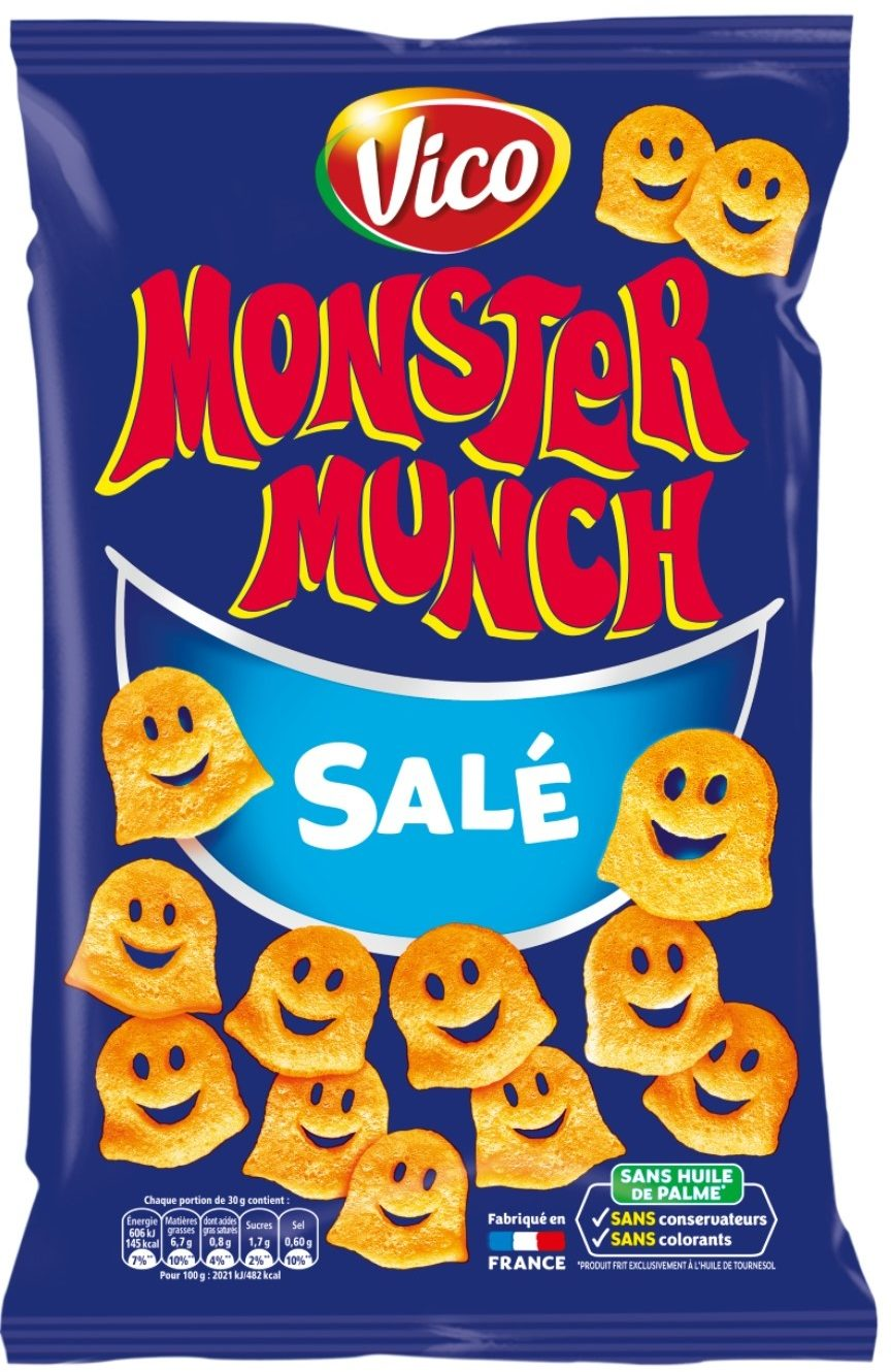 Monster munch snacks original - Produit - fr