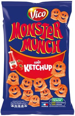 Monster Munch, Ketchup - Product - fr