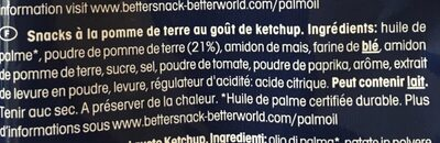 Monster Munch, Ketchup - Ingrediënten - fr